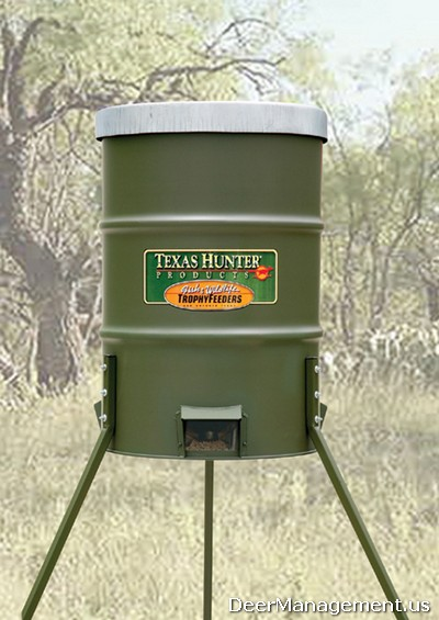 Protein Feeders for Whitetail Deer Hunting and Management