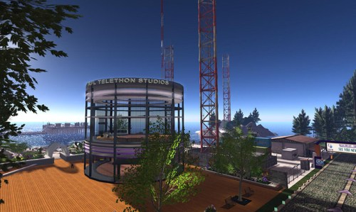 The RFL Telethon Studios, photographed by Wildstar Beaumont