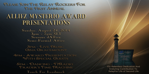 2014 Alliez Mysterio Award Invitation