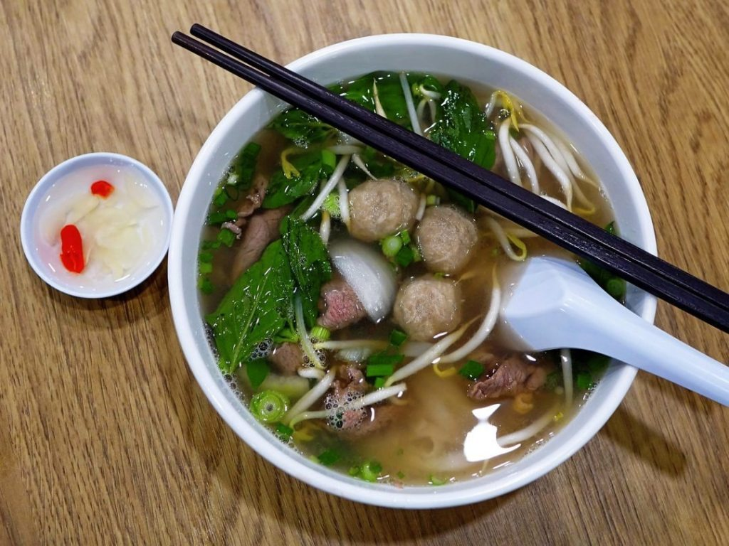 A traditional Vietnamese dish