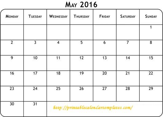 May 2016 Printable Calendar, May 2016 Blank Templates, May 2016 Blank Calendar, May 2016 Calendar Printable, May 2016 Calendar Templates, May 2016 Editable Templates, May 2016 Editable Calendar