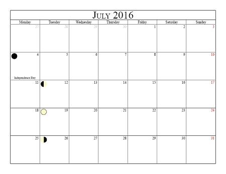 Moon Phases July 2016 Calendar, Moon Schedule July 2016 Calendar, Moon Calendar July 2016, Moon Calendar 2016 July, Moon Templates July 2016, July Calendar 2016, July 2016 Calendar, July 2016 calendar printable, July calendar 2016 Printable, July 2016 Calendar Templates, July 2016 Editable Templates, July 2016 Printable Calendar