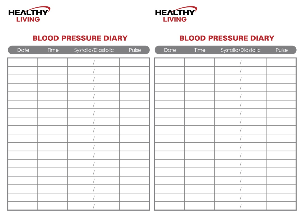 blood pressure chart by age and height