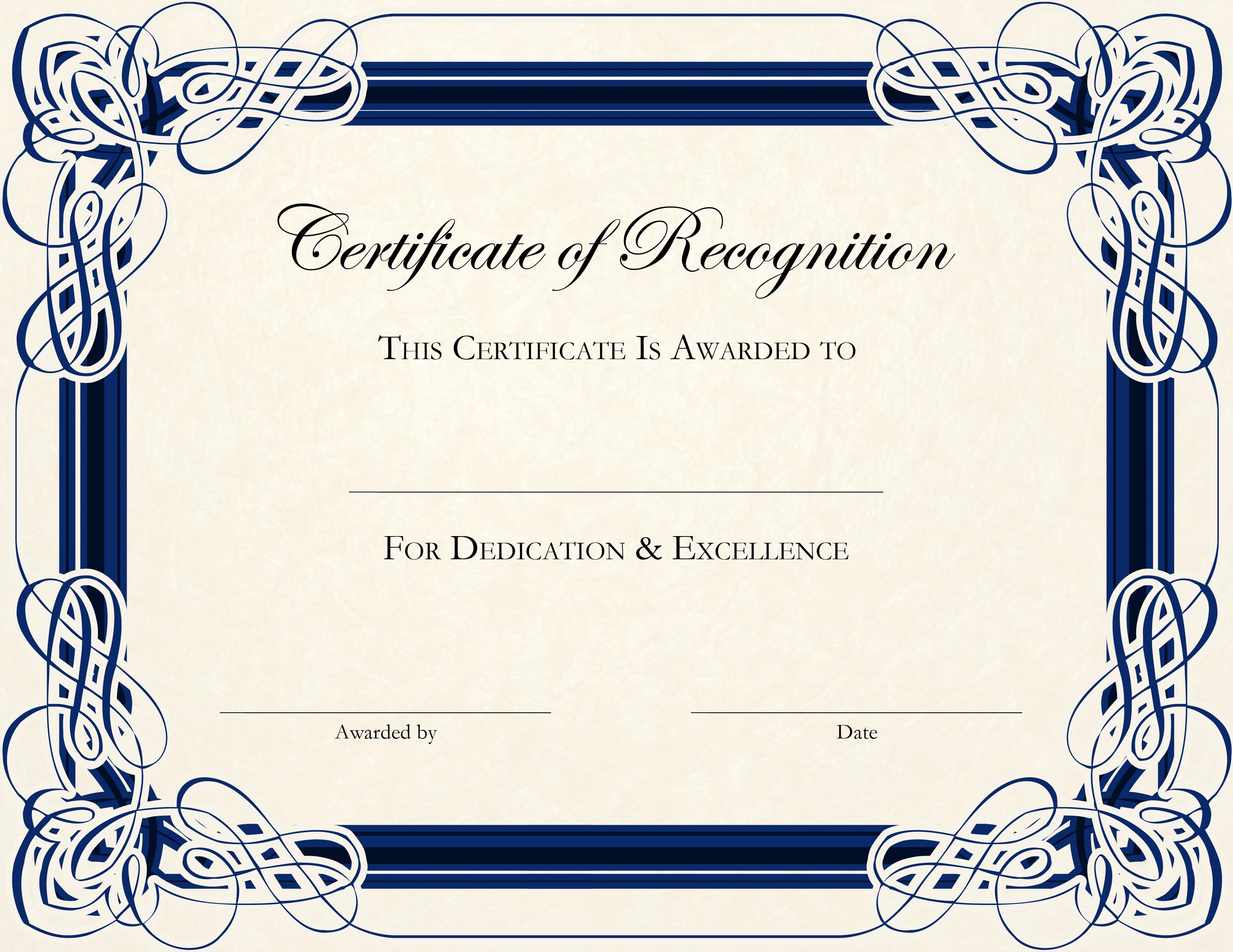 certificate template certificate design free certificate templates award certificate template free certificate - Free Templates For Certificates