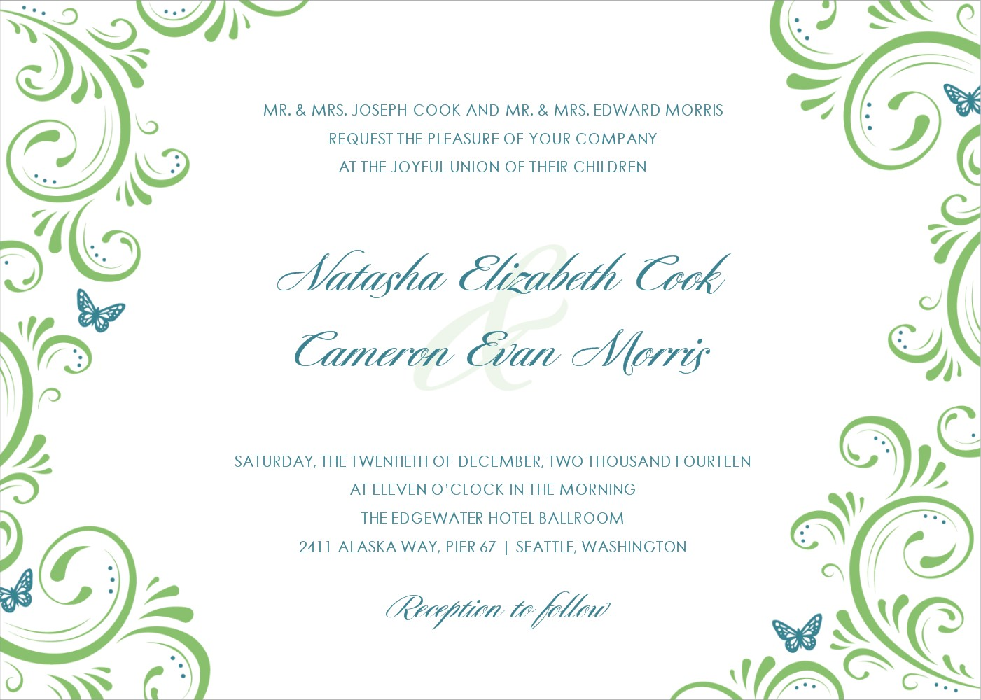 15 printable wedding invitation templates cards samples wedding invitation templates wedding invitations cards invitation cards printable wedding invitation wedding stopboris Gallery