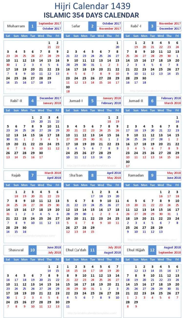 Islamic Calendar 4
