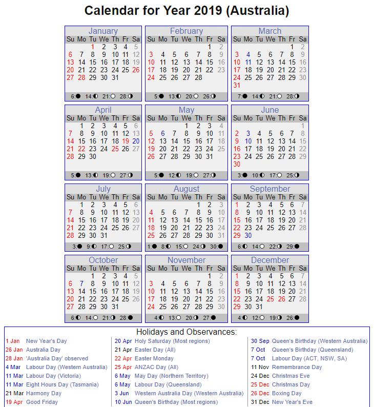 public holidays victoria 2018 pdf