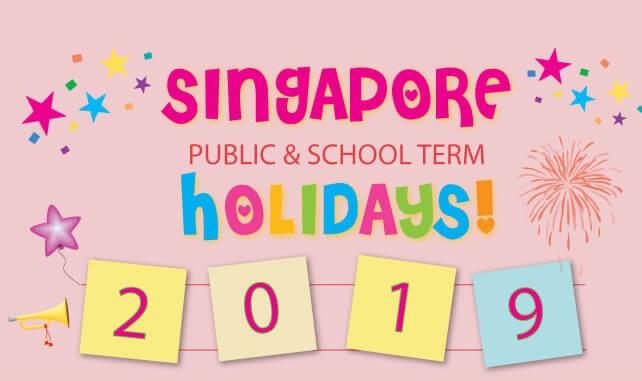 Singapore Calendar 2019 Printable