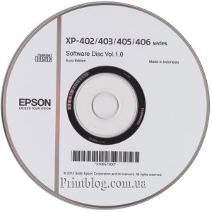 Epson Expression Home Xp 402 403 405 406