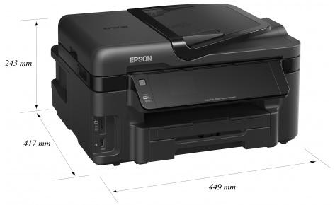Скачать драйвер принтера Epson WorkForce WF-3520DWF