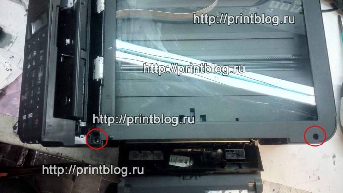Canon MX494 сброс ошибки 5B04