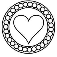 Valentine circles