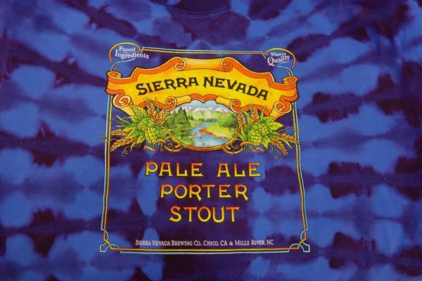 Sierra Nevada tie dye shirt