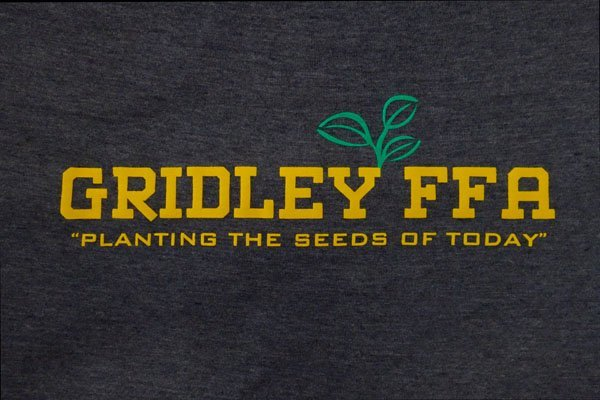 Gridley FFA screen print