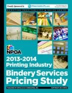NPOA's 2013-2014 Printing Industry Bindery Services Pricing Study