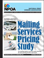 2015-2016 Mailing Services Pricing Study