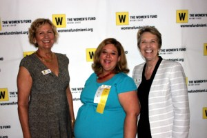 L TO R:Joanne Solman (VIce Chair), April Boyer Duff, Marilyn March (Executive Director)