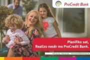 Inovacion në mënyrën e pagesave me kartelat e bankës ProCredit