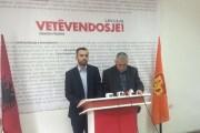 Partia e Zafir Berishës nënshkruan marrëveshje me Vetëvendosjen