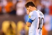 Messi lë Argjentinën