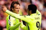 Barcelona gati të 'blindojë' Suarezin e Rakitiqin