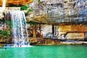 Rruga deri te Ujëvara e Mirushës është për gjynah (Foto)