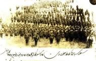 Pamje e vitit 1880: Ushtarët me plisa të Batalionit të Prizrenit