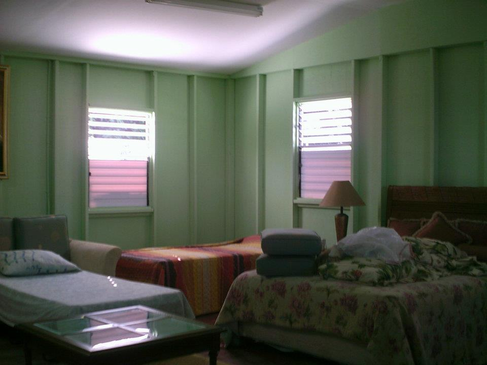 Women's dorm room at the shelter