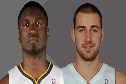 Valanciunas and Hibbert
