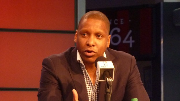 Ujiri talking