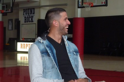 Greivis Vasquez laughing