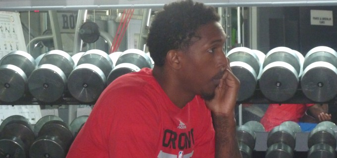 Lou Williams phone interview close up