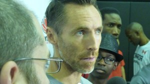Steve Nash closeup