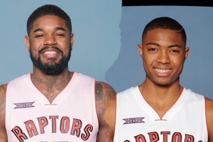 TOR Caboclo and Amir Johnson
