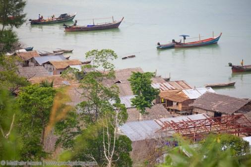 Moken Sea Gypsies Village