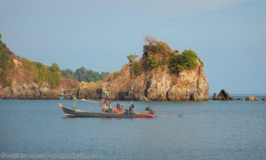 Moken Sea Gypsies Boat
