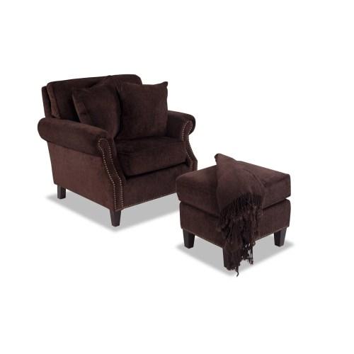 Medium Crop Of Cuddle Chair With Ottoman