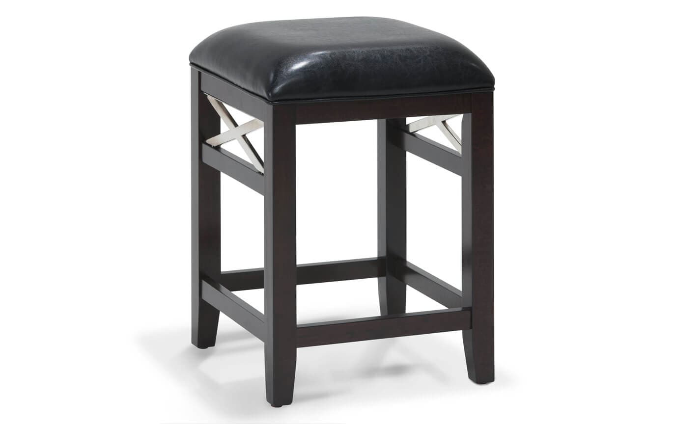 Arresting Newbury Backless Bar Stool Newbury Backless Bar Stool Outlet Discount Furniture Backless Bar Stools Fabric Seat Backless Bar Stools houzz 01 Backless Bar Stools