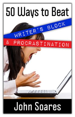 50 Ways to Beat Writer's Block and Procrastination helps you get your writing done.