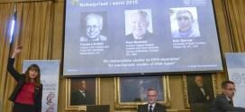 Nobel de Química para los 3 investigadores sobre la reparación del ADN