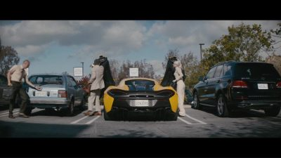 Mclaren Sports Car (Yellow) in Everyday by Logic and Marshmello (2018) Official Music Video