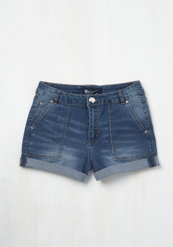 Cuff and Tumble Shorts