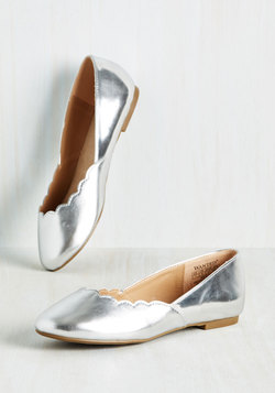 Spring Trends - Gleam It, Do It Flat in Silver