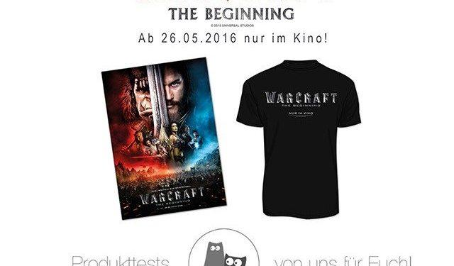 WARCRAFT - THE BEGINNING Gewinnspiel (1)