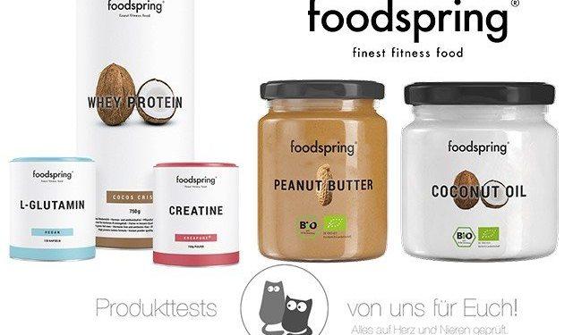 foodspring Bloggeraktion