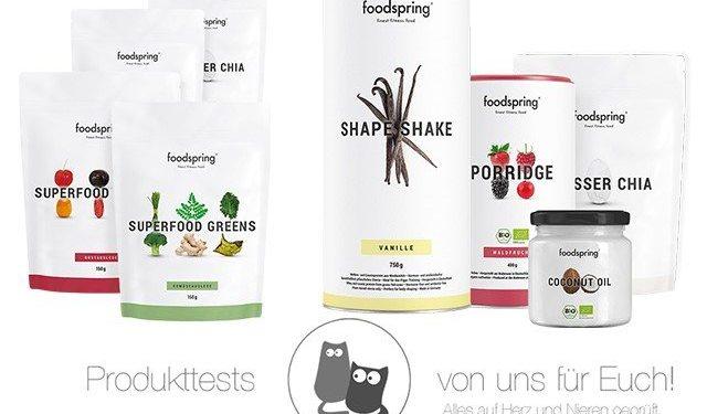 foodspring Gewinnspiel (1)