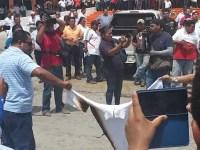 Se rebelan maestros de Tabasco, exigen a SNTE defensa contra la reforma educativa
