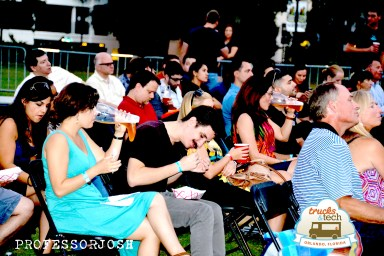 Trucktoberfest Tech Crowd
