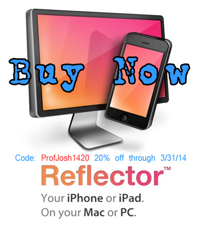 Reflector Discount Code from Professor Josh
