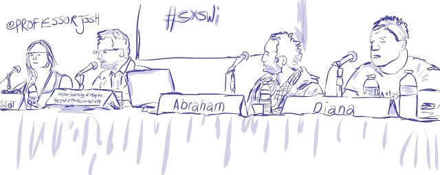 Sketch by Sketch SXSW Interactive Online Learning and Maybe the End of Professionalism